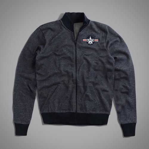 Толстовка US Bombardier jacket Navy