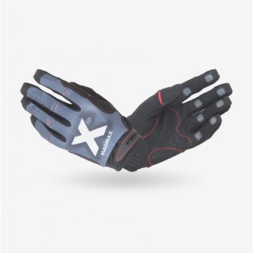 """Перчатки MadMax """"Crossfit"""" черно/серые"""