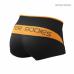 Шорты BB Shaped Hotpant, Black/Orange