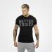 Футболка Better Bodies Basic Logo Tee, Black