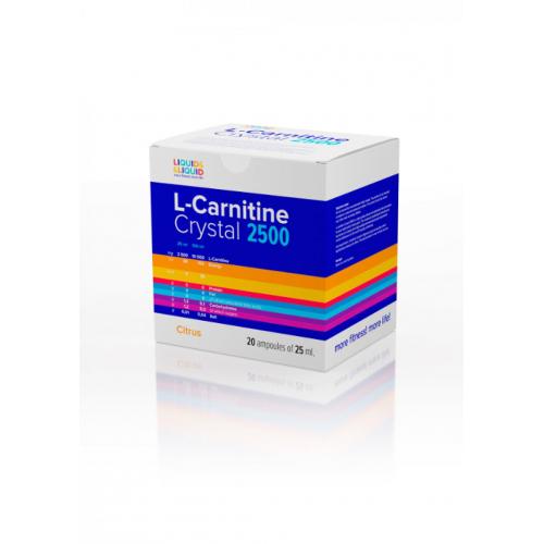 L-Carnitine Crystal 2500 (20x25 ml)
