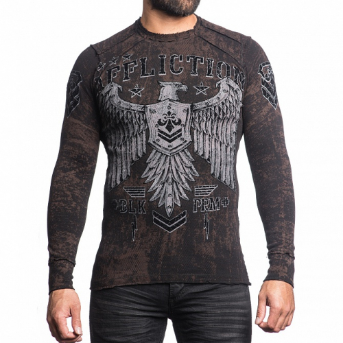 Пуловер Affliction DISJOINTED REV.THERMAL