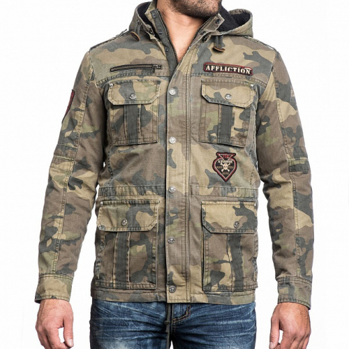 Куртка муж. Affliction RUSTY BREAK JACKET