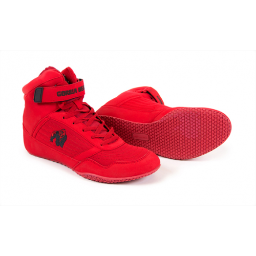 Кроссовки GORILLA WEAR HIGH TOPS red GW 90001-rd