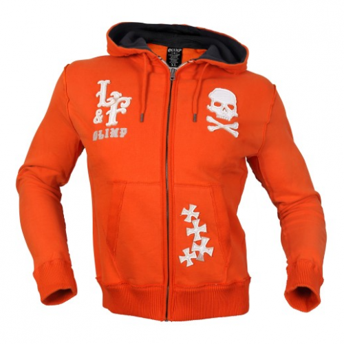 Толстовка Olimp Chopper Skull orange