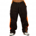 "Штаны Brachial Tracksuit Trousers ""Time"" black/org"