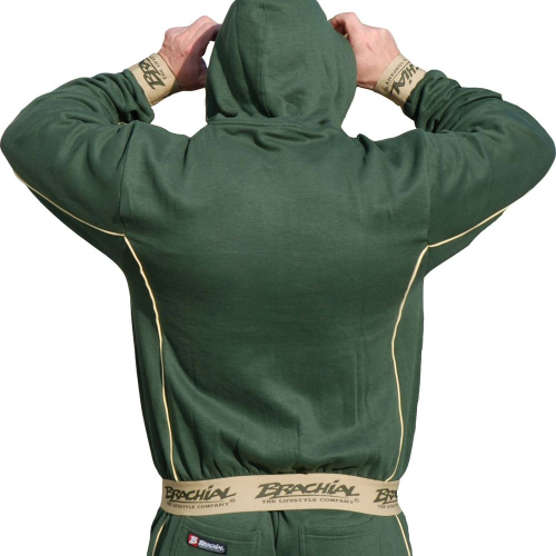 Толстовка Brachial Zip-Hoody Spacy military green