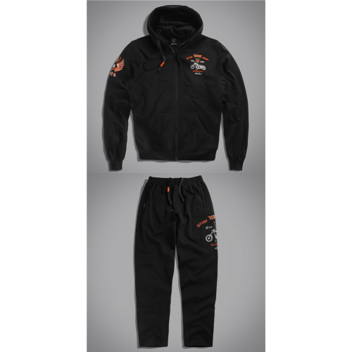 Спортивный костюм UncleSam Garage (black)