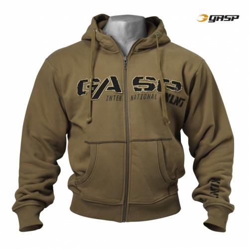 Толстовка GASP 1,2 LBS Hoodie, Khakigreen (Код: 220449-679)