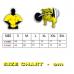 Футболка Gym Wear Workout T-shirt Rag-Top Big Sam (3208)