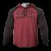 Худи GASP LS Thermal Hoodie (темно-бордовый)