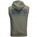 Безрукавка с капюшоном Gorilla Wear Springfield Army Green