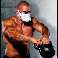 Тренировочная маска для бодибилдеров и пауэрлифтеров
