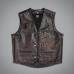 Жилет кожанный Uncle Sam Hellfire vest