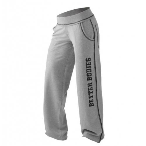 Cпортивные брюки Better Bodies Baggy Soft Pant (серые)