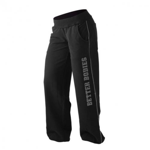 Cпортивные брюки Better Bodies Baggy Soft Pant (черные)