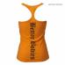 Майка BB Printed T-back, Bright orange