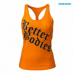 Майка Better Bodies Printed T-back (Bright orange)