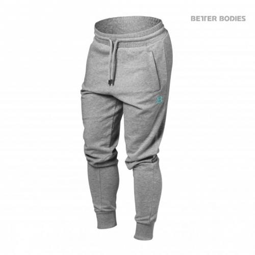 Брюки Better Bodies Jogger Sweat Pants (серый меланж)