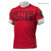 Футболка Better Bodies Basic Logo Tee, Red