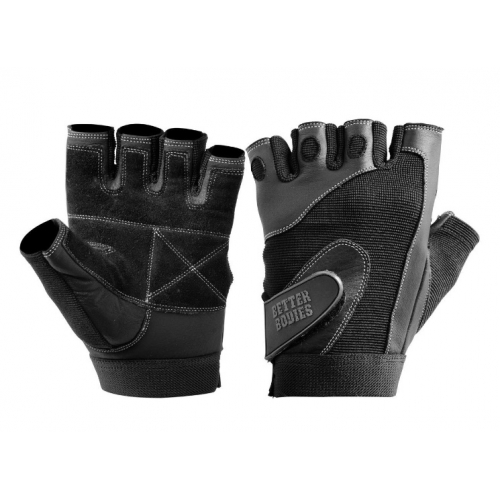 Перчатки Bettr Bodies Pro Lifting Gloves (черные)