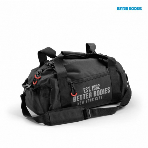Спортивная сумка Better Bodies Gym Bag (черная, 130317-999)
