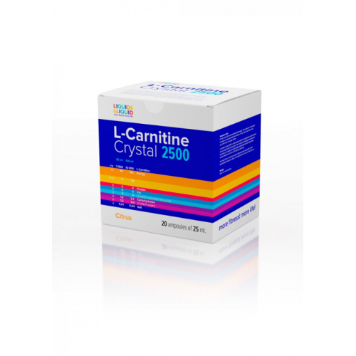 L-Carnitine Crystal 2500 (20x25 ml)