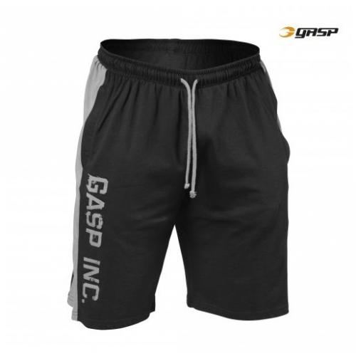 Шорты GASP Jersey Logo Shorts, Black/Grey