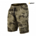 Спортивные шорты GASP Thermal Shorts, Green Camoprint 220708-673