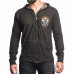 Толстовка Affliction Death Coil Rev Zip Hood Therml