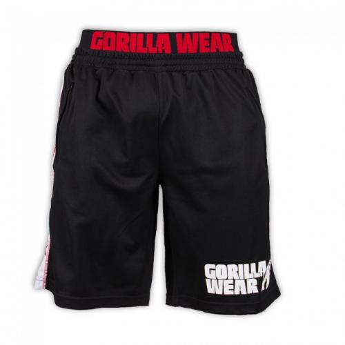 Шорты Gorilla Wear California (черно-красные)