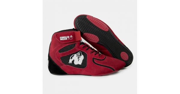 5c75e5a7 Кроссовки GORILLA WEAR Chicago High Tops - Red Limited купить в Москве в  интернет-магазине Мир Атлета
