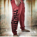 Спортивные штаны KL Motherfxcker red
