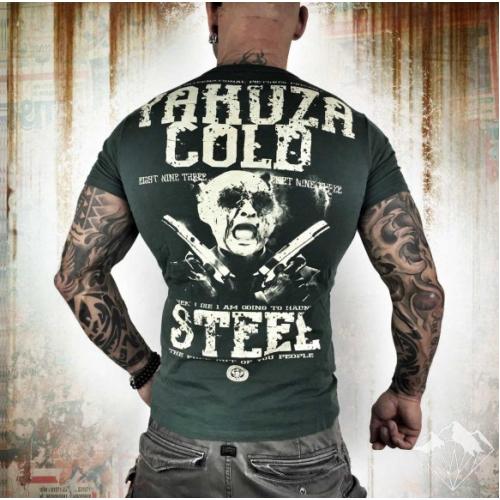 Футболка Yakuza KL Cold Steel (серая)
