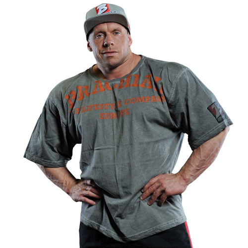 "Футболка Brachial T-Shirt ""Back Flip"" gray"