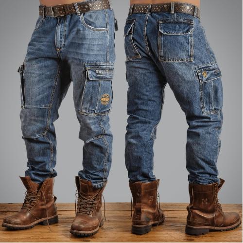 Джинсы Uncle Sam Combat cargo jeans