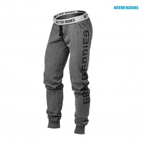 Спортивные брюки Better Bodies Slim Sweatpant (Antracite Melange)