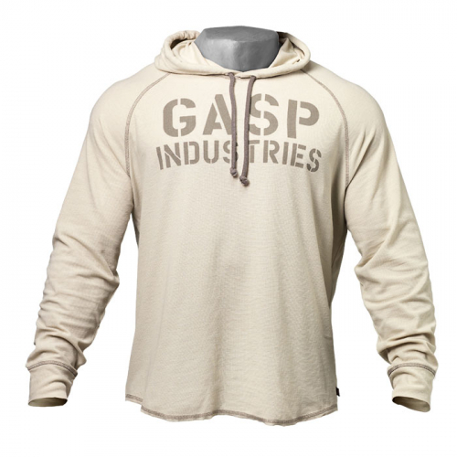 Толстовка Gasp Long Sleeve Thermal Hoodi, Cement