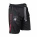 Спортивные шорты Gorilla Wear Functional Mesh Shorts (черно-красные)