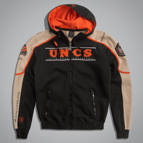Толстовка UncleSam Scout Jacket Black