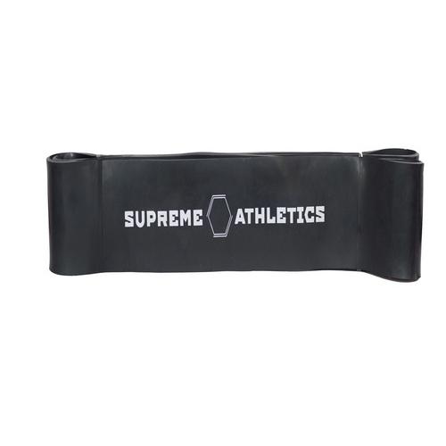 Резиновая петля Supreme Athletics черная (35-90 кг)