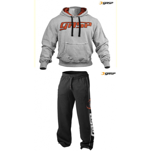 Спортивный костюм GASP Pro Gym (серо-черный)