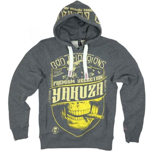 Свитшот серый Yakuza Premium 2221