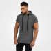 Толстовка Better Bodies Bronx T-shirt hoodie (Dark greymelange, 120886-907)