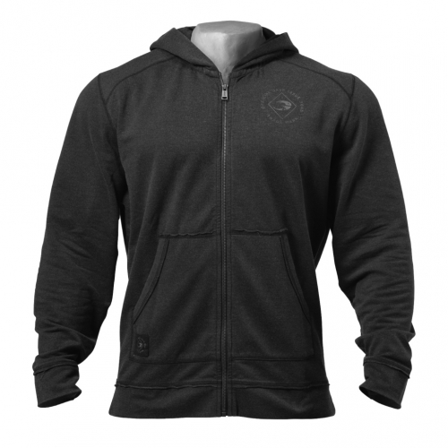Толстовка GASP Annex zip hood, Wash black (Код: 220830-994)