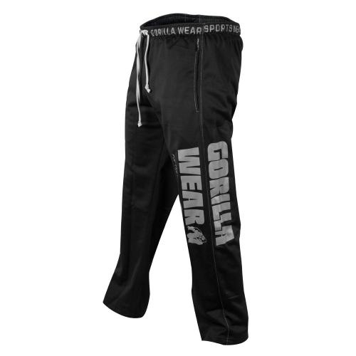 Штаны Gorilla Wear Logo Mesh (черные)