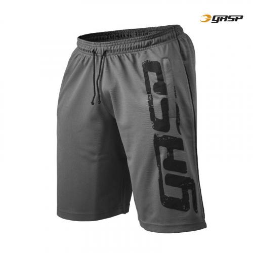 Спортивные шорты GASP Pro Mesh Shorts (серые)