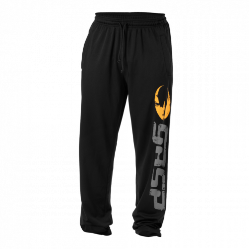 Спортивные брюки GASP Original mesh pants (черные)
