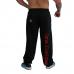 Спортивные брюки Brachial Tracksuit Trousers Gym (черно-красные)