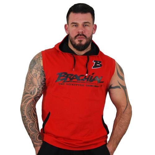 Безрукавка Brachial Tank-Top Boxer (черно-красная)